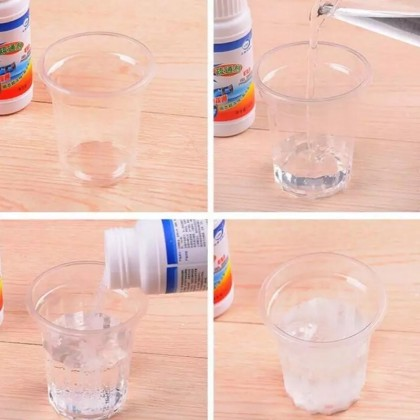 iDECO Serbuk Pembersih Tersumbat Pipe Powerful Sink and Drain Cleaner Chemical Agent for Kitchen Toilet Pipe Dredging