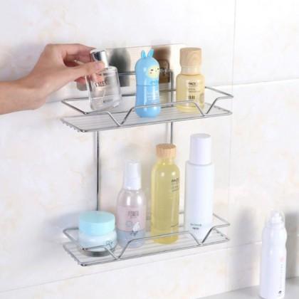 iDECO Metal Soap Holder Bathroom Wall Hanging Multi-layer Soap Box