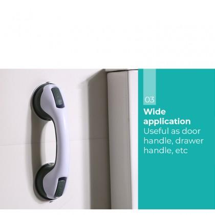 iDECO Bathroom Shower Tub Room Super Grip Suction Cup Safety Grab Bar Handrail Handle